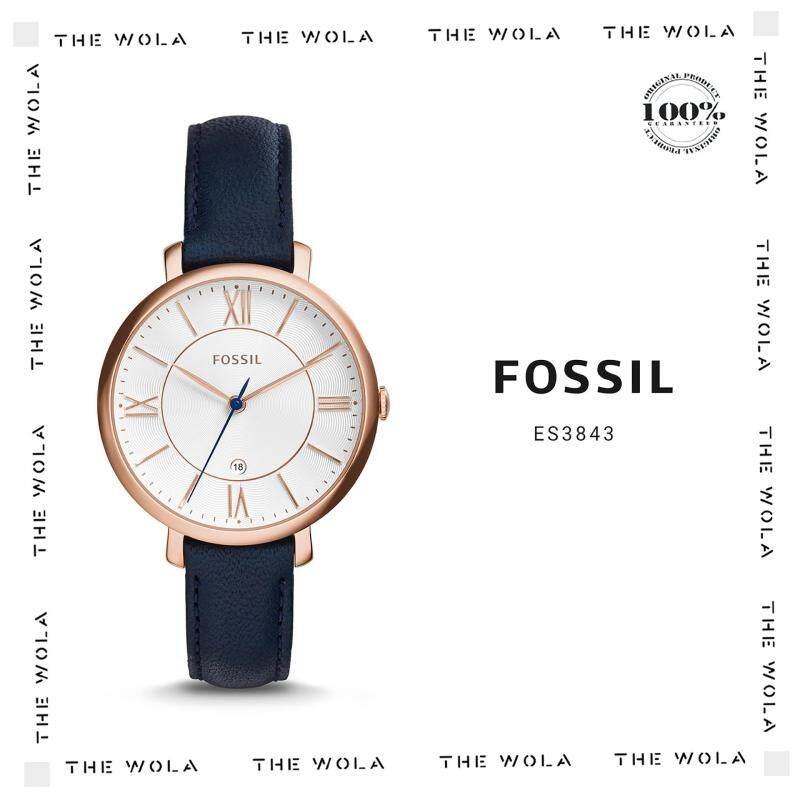 FOSSIL CASUAL WOMEN WATCH ES3843 Original & Genuine (2 Years Warranty) Malaysia