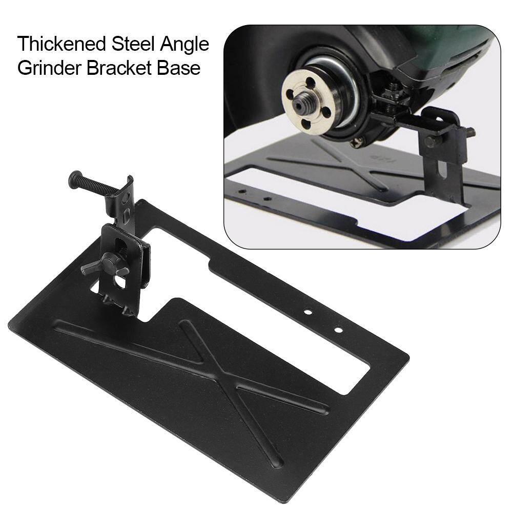 Grinder Stand Holder Thickened Steel Angle Grinder Bracket Holder Cutting Machine Base 2-3cm Adjustable