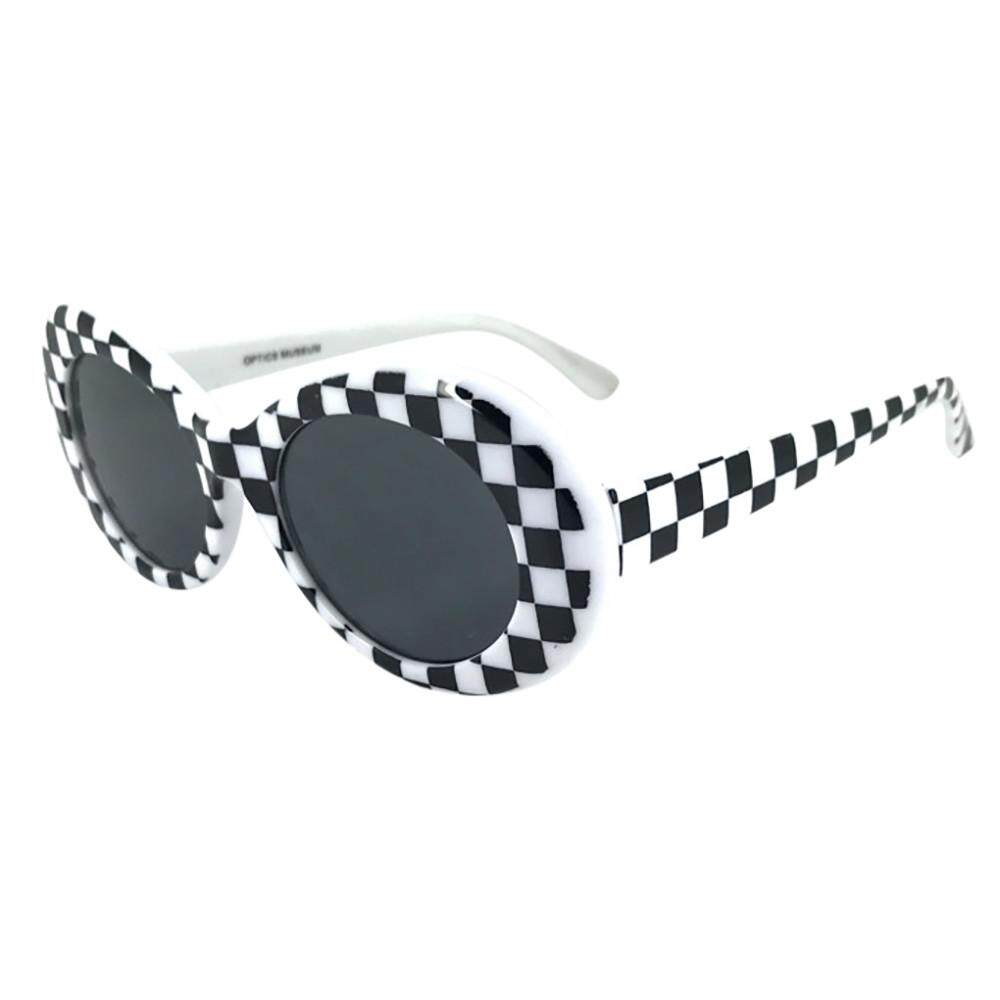 d9111d5463183 Docesty Retro Vintage Clout Goggles Unisex Sunglasses Rapper Oval Shades  Grunge Glasses Free Shipping By Docesty