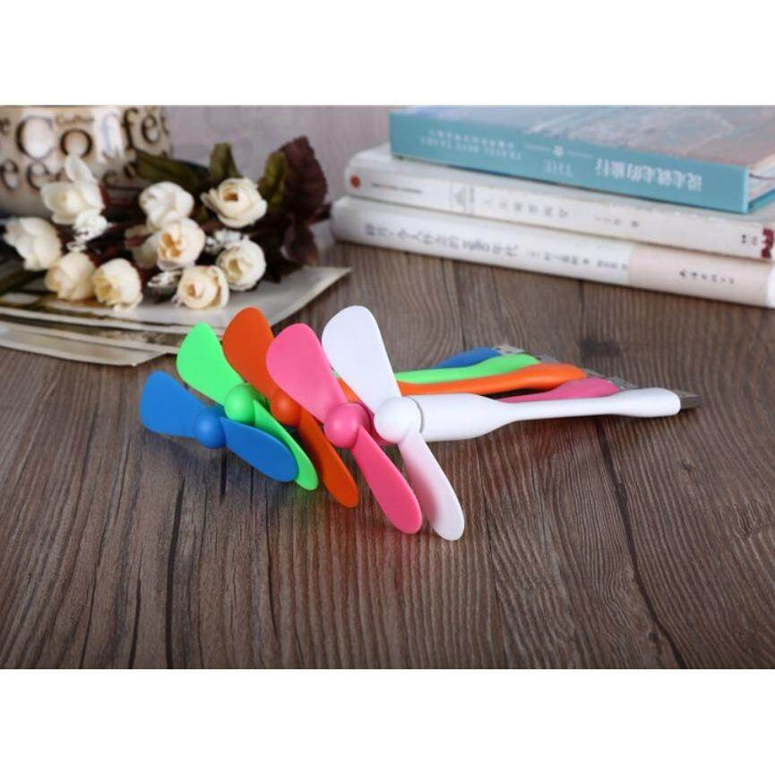 Portable USB Mini Fan and Flexible Speed Fan for Notebook Laptop Tablet PC Power Bank(2Pcs) Malaysia