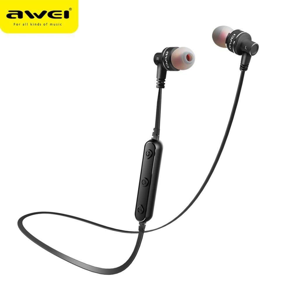 Awei A920bl Bluetooth V41 Wireless Sports In Ear Headphones With Original Sport Exercise Stereo Noise Reduction Earbuds Build Microphone B990bl Portable Magnetic Smart Earphone Headset For Calls