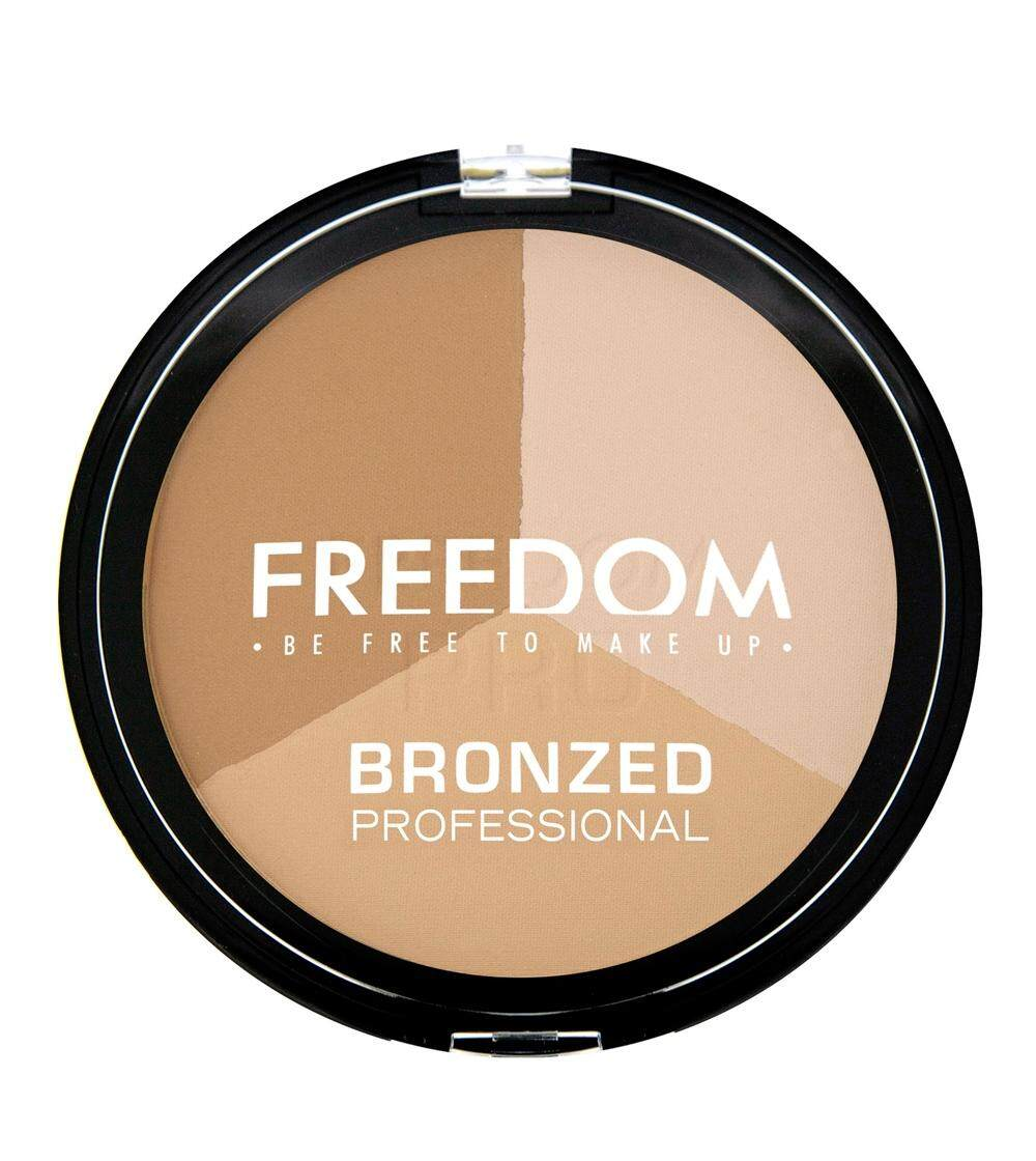 Freedom Makeup Bronzed Professional Pro - Warm Lights By Domestic Goddess & Co.