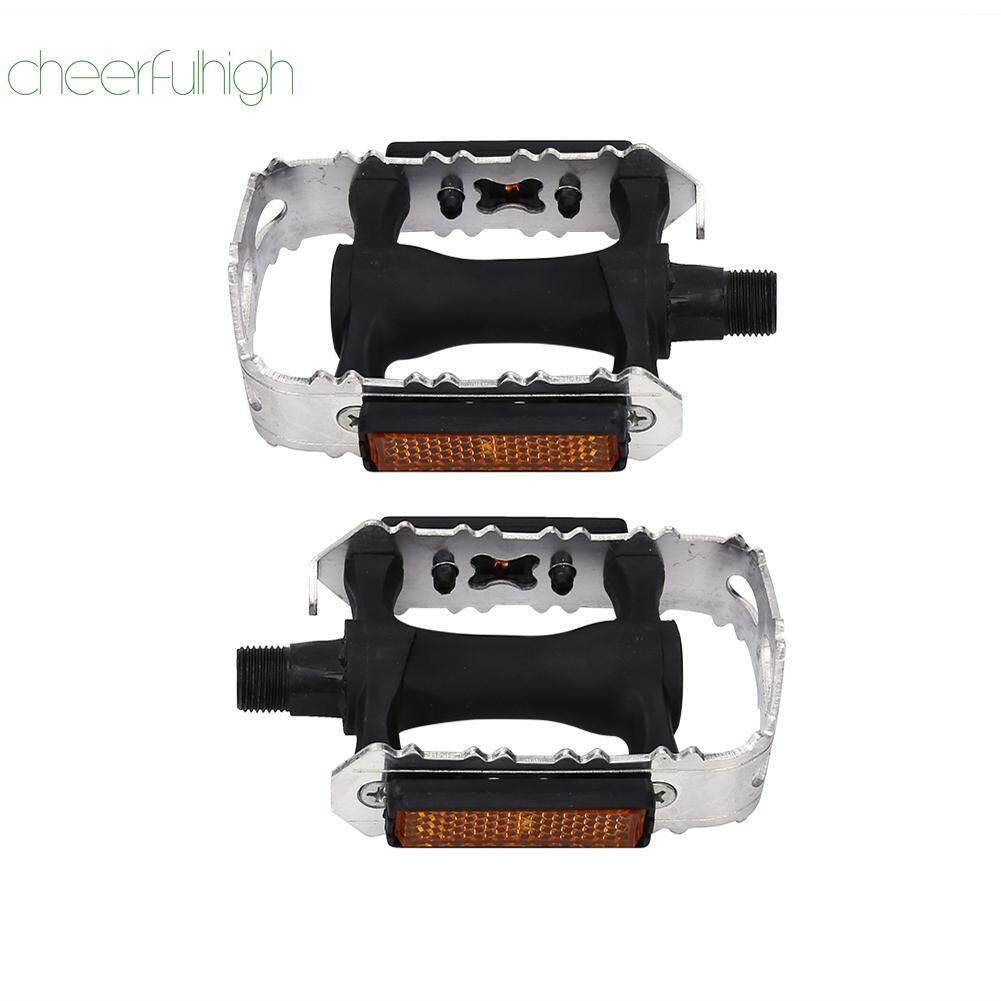 [cheerfulhigh]1pair Bearing Pedals Bicycle Parts For Mtb Road Bike Anti-Slip By Cheerfulhigh.