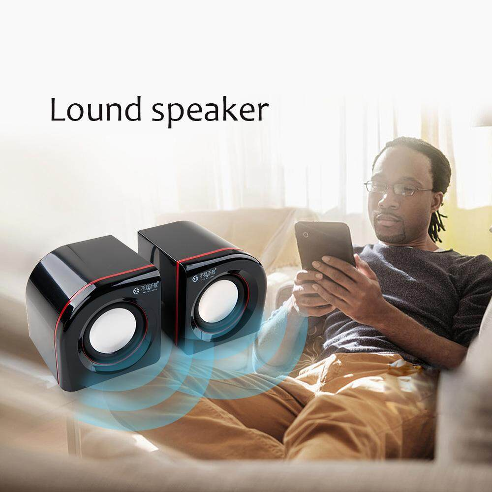 SEE ME HERE LV360 USB Multimedia Speakers with Stero Sound-for PC/Phone(with 3.5mm AUX & PC input) Malaysia
