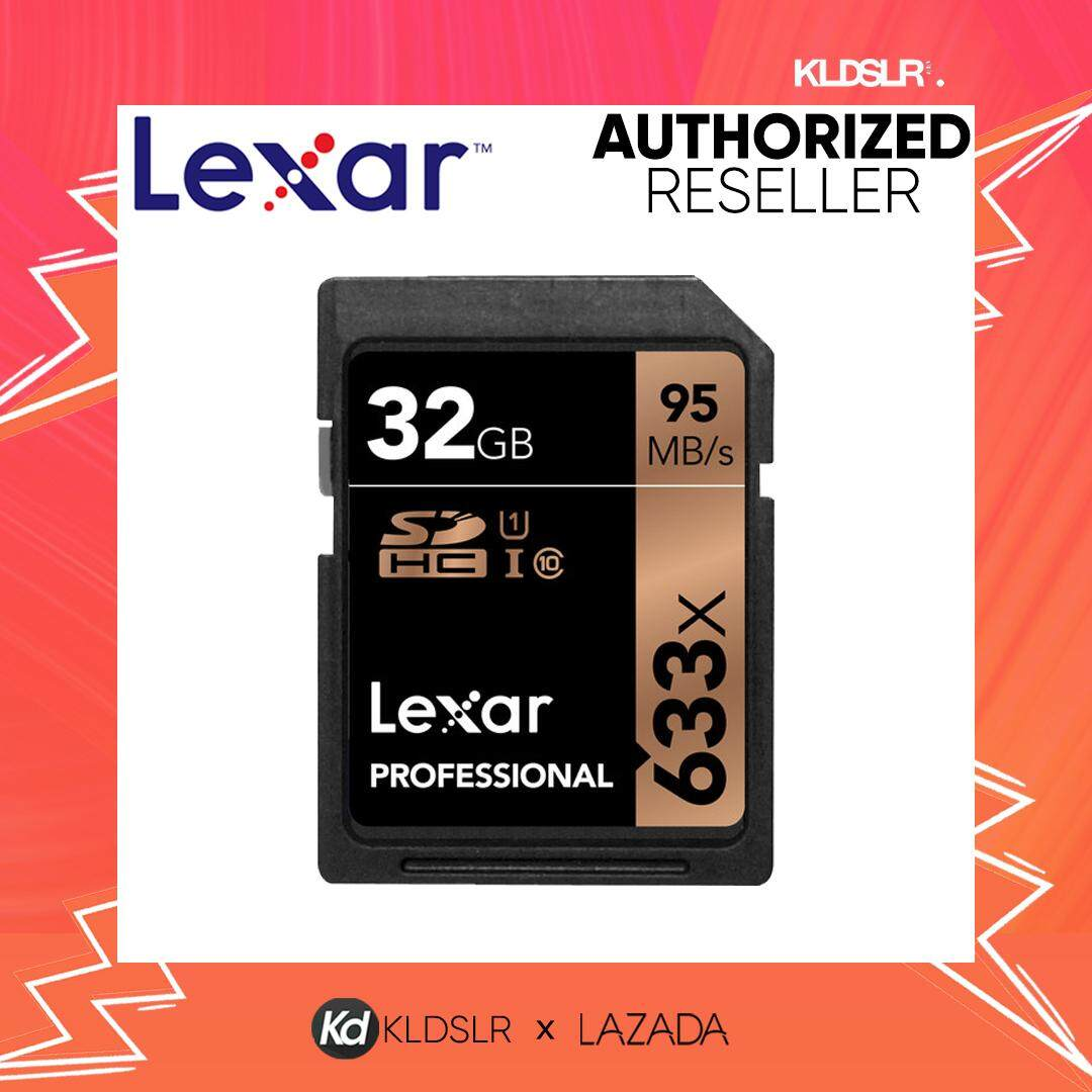 Memory Micro Sd Card With Best Price At Lazada Malaysia Sandisk Extreme Pro Sdxc Uhs I 256gb Lexar 32gb Professional 633x Sdhc