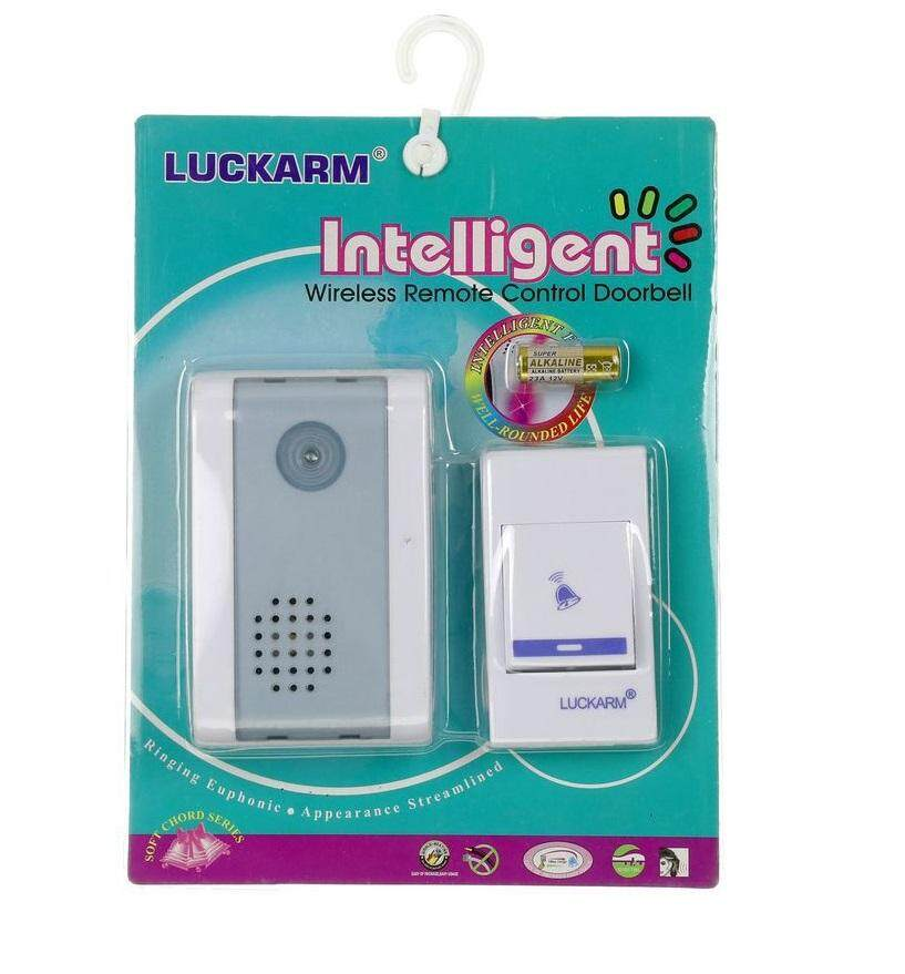 LUCKARM Wireless Doorbell Luckarm Wireless Doorbell is suitable for home, hotel, shops, factory and office. Stick on walls and ready to use. # Whatts Thatt