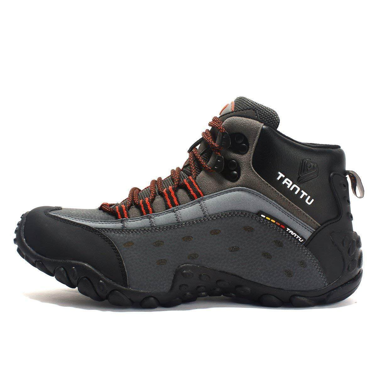 4303ce9d470 SANANG Men Outdoor Waterproof Hiking Boots Tourist Trekking Shoes