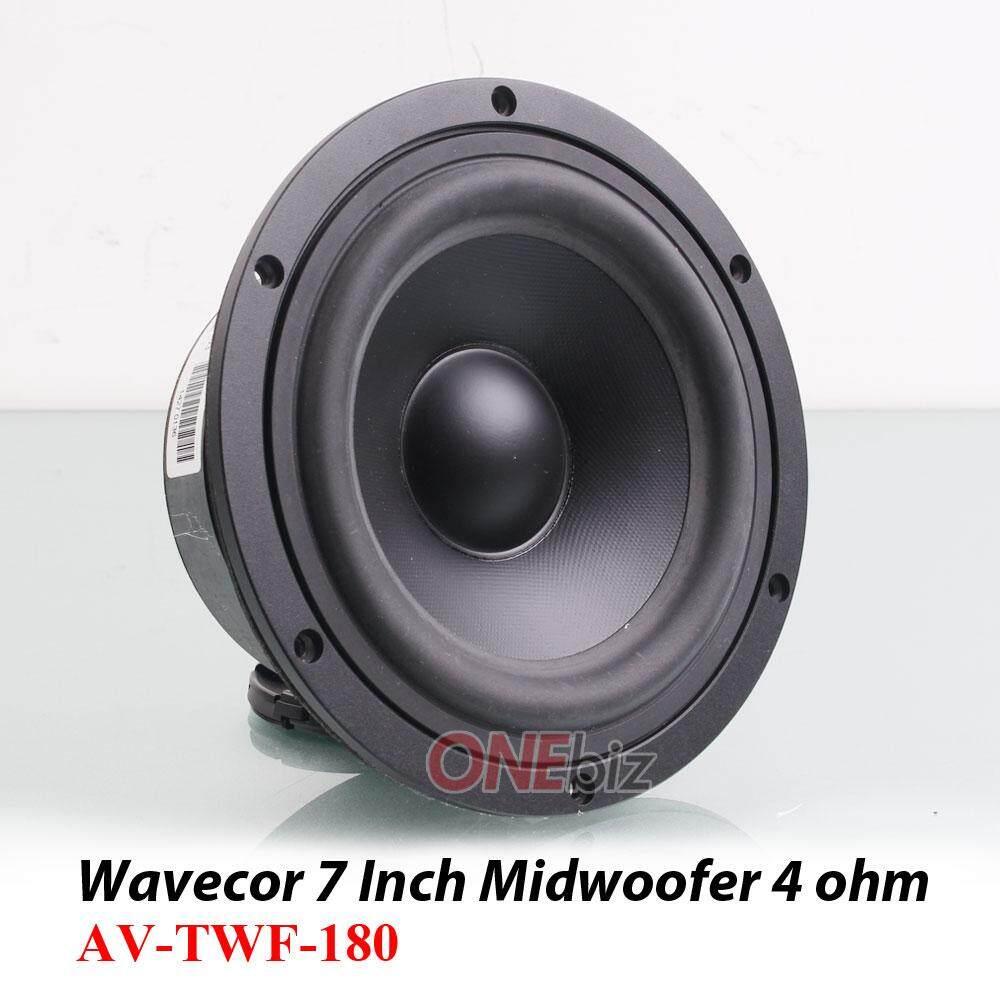 Wavecor 7 Inch Midwoofer Speaker 4 Ohm Av Twf 180 Wiring Subwoofers Speakers To Change Ohms