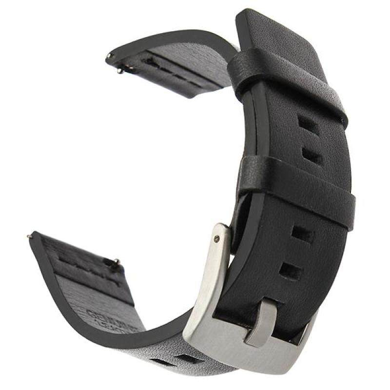 Italy Oil Leather Watchband 18mm Quick Release Watch Band Universal Wrist Strap Steel Buckle Bracelet Black Brown Malaysia
