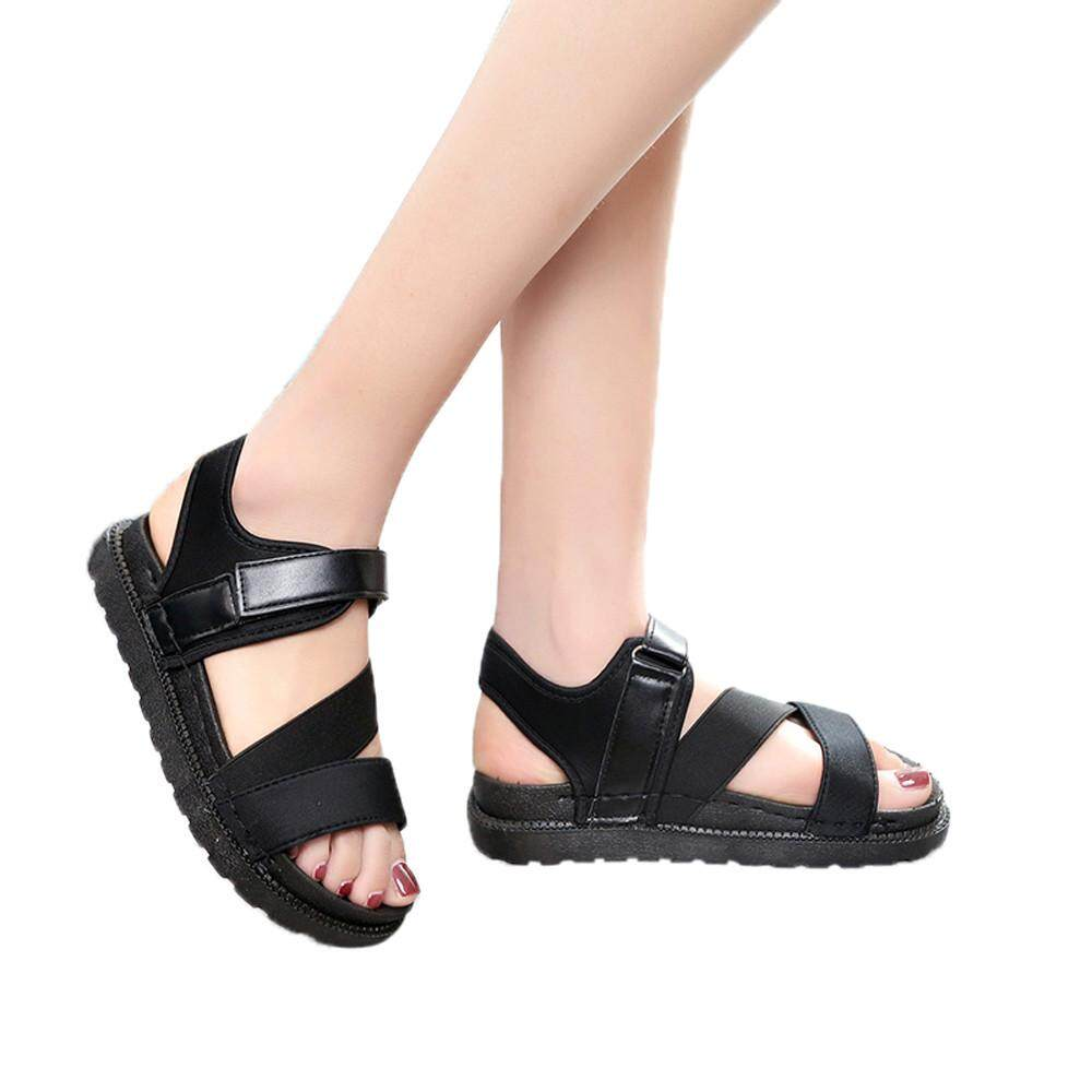 Petenies Summer Gladiator Women Flat Fashion Shoes Casual Occasions Comfortable Sandals