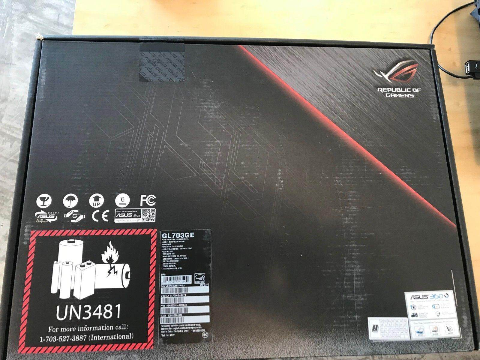 ASUS ROG (Republic of Gamers) Strix GL703GE-ES73 Scar Edition Gaming Laptop Malaysia