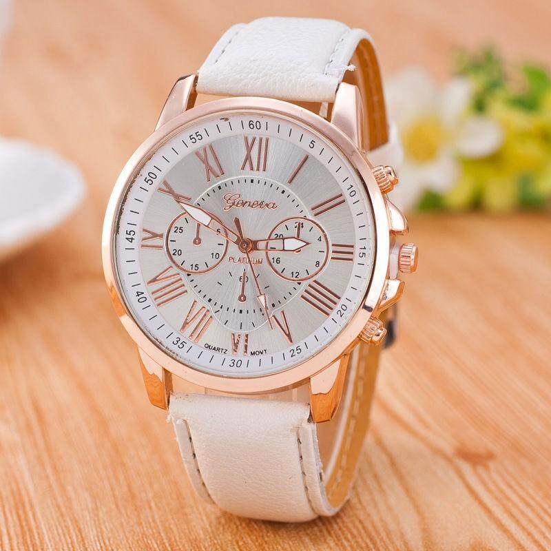 2018 Brand New Fashion Popular Great Gift for Friend/Family-Fashion Classic Numerals Watch Wristwatch Quartz Watches For Women/Men White HOT Malaysia