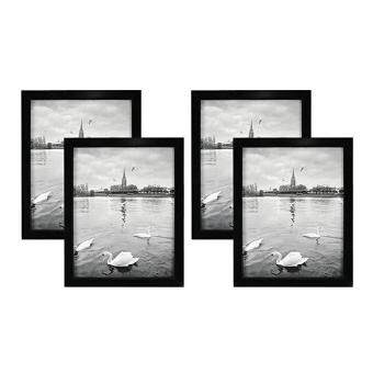 Baru Golden State Art Set Of 4 8x10 Wood Picture Frame Simple