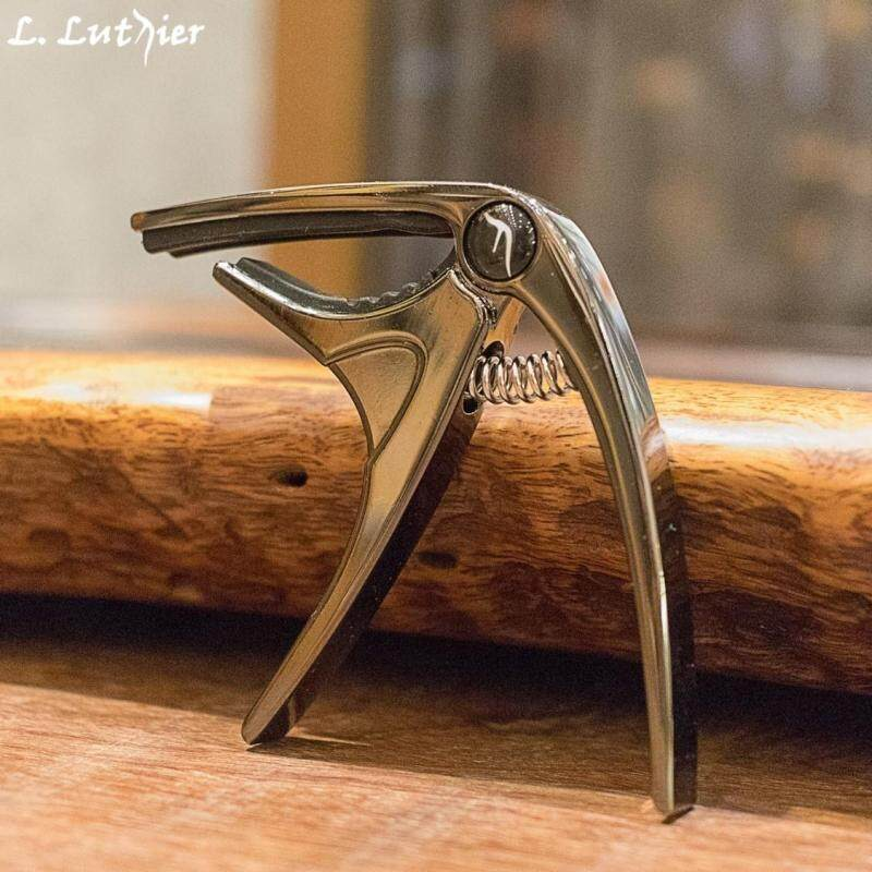 L.Luthier Guitar Capo Design For 6 Strings Guitar Professional Grade ( Available in Black Gloss or Brass) Malaysia