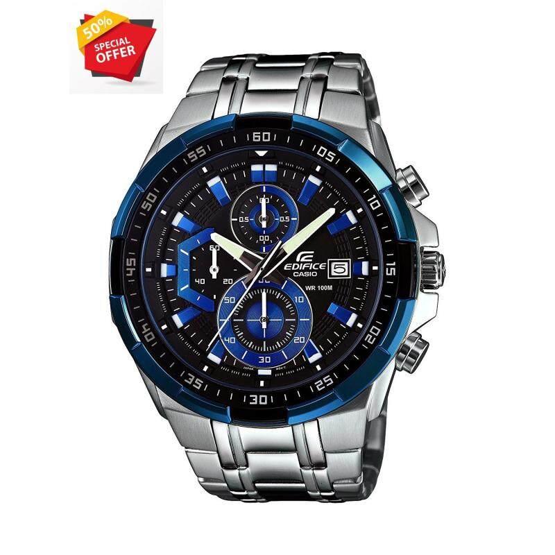 Special Promotion Casio Edifice Efr-539d-1a2vu Men Blue Dial Watch Malaysia