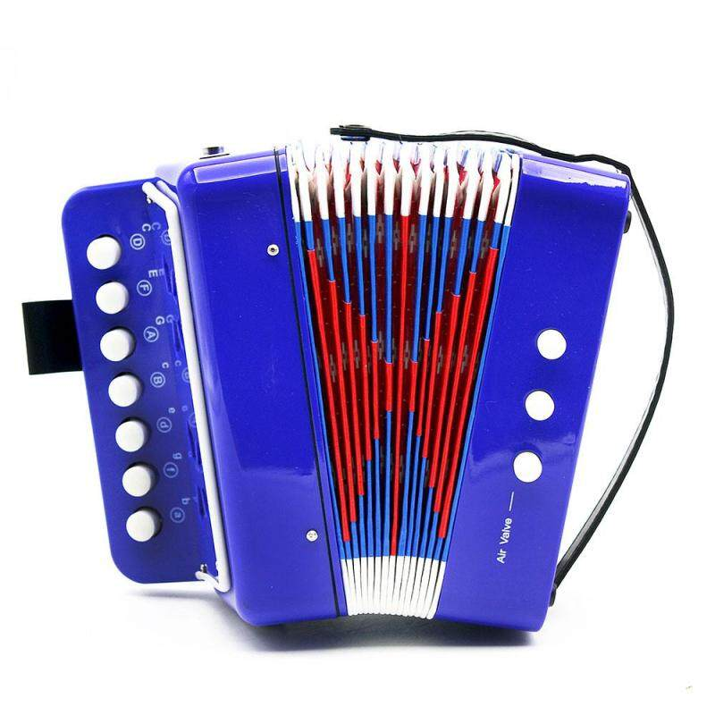 Star Mall 7-Key 2 Bass Accordion Mini Small Accordion Educational Musical Instrument Rhythm Band for Kids Malaysia
