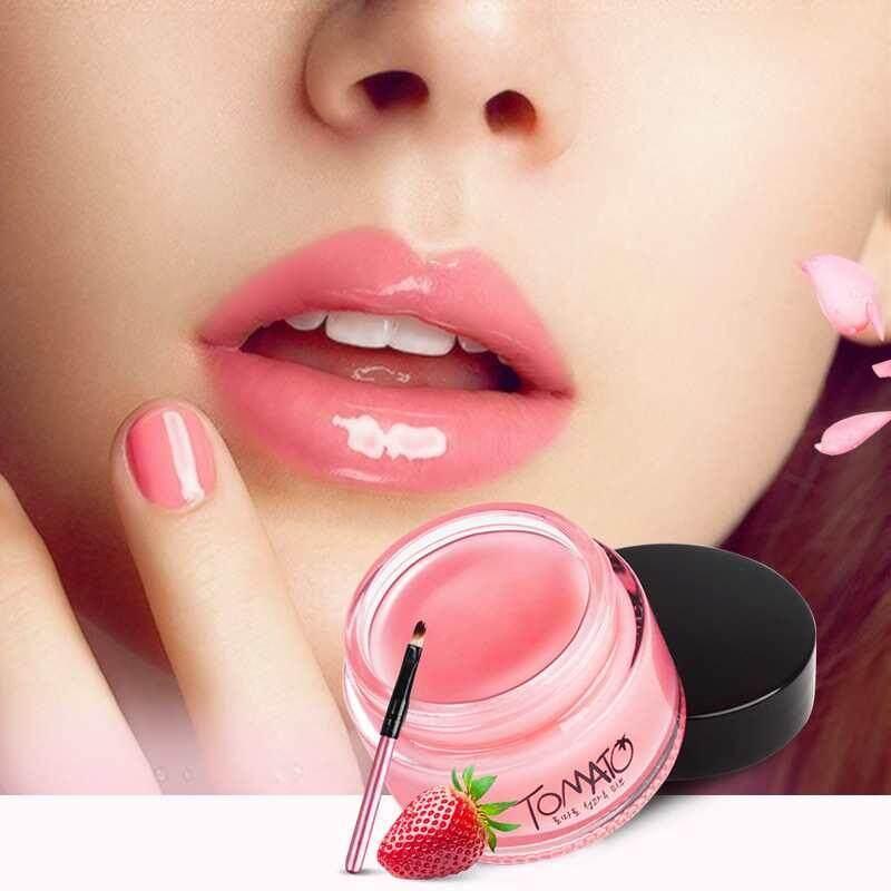 Yuero Natural Tomato Lip Mask Cream Beewax Beauty Repair Moist Moisturizing By Yuero.