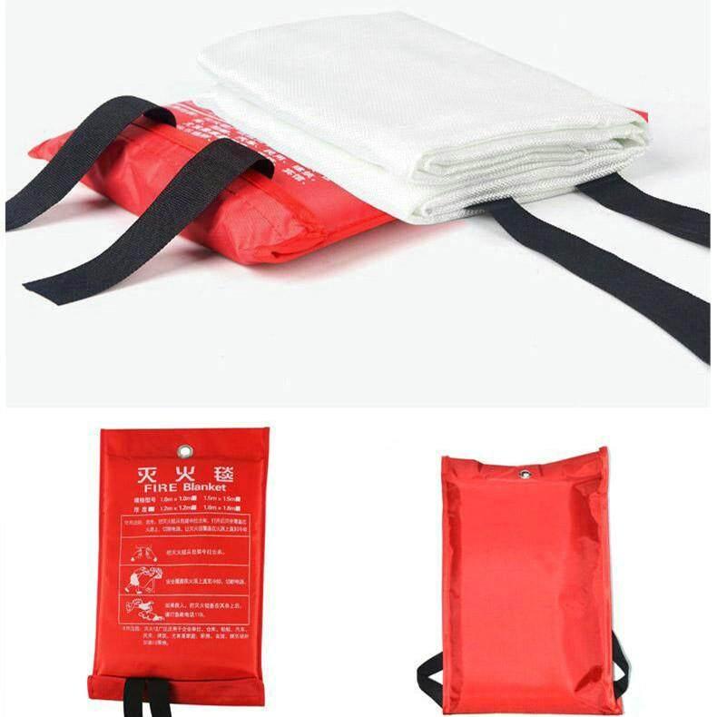 1*1/1.5*1.5M Fire Blanket Fiberglass Fire Flame Retardant Emergency Survival Fire Shelter Safety Cover Fire Emergency Blanket