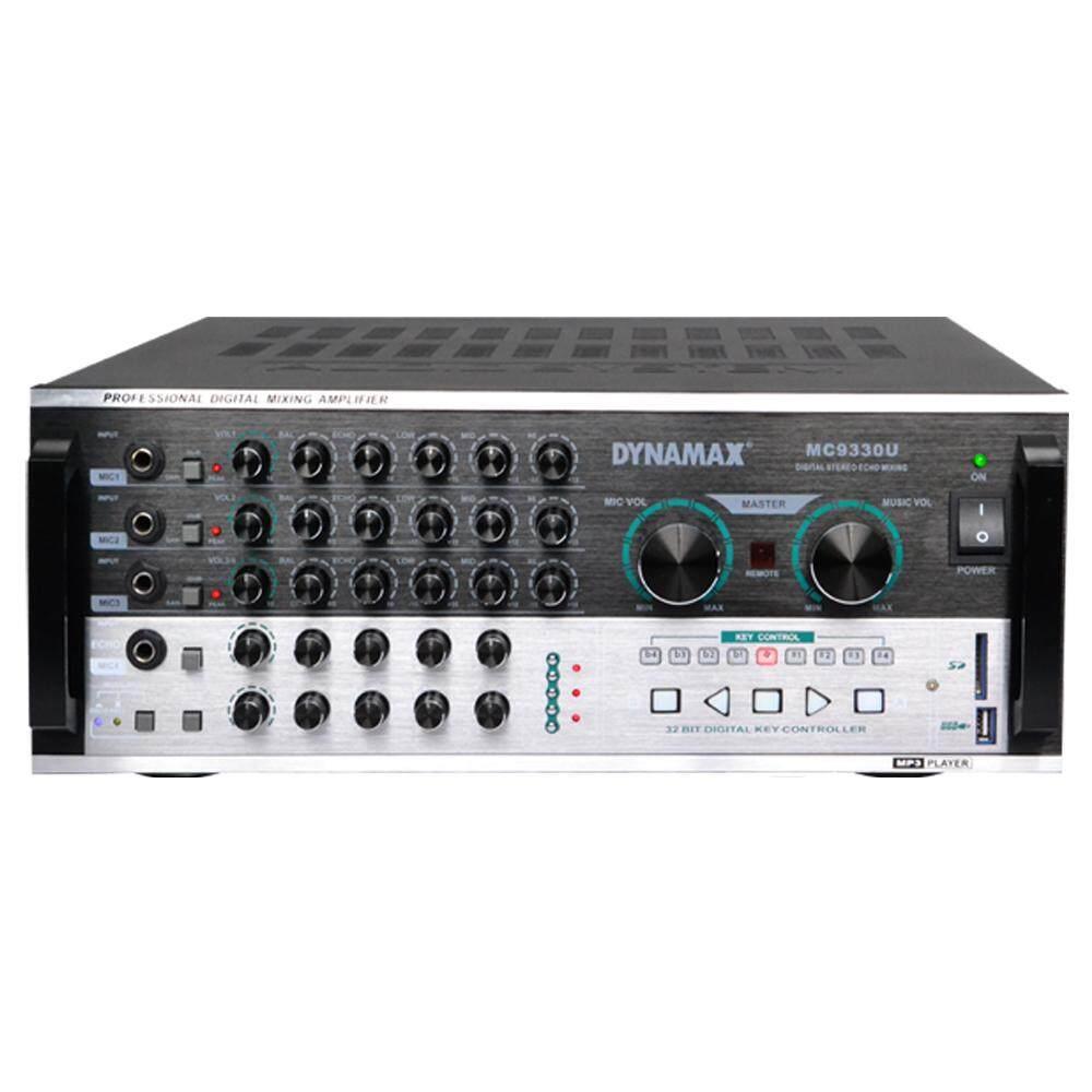 DYNAMAX Digital Echo Karaoke Amplifier MC9330U