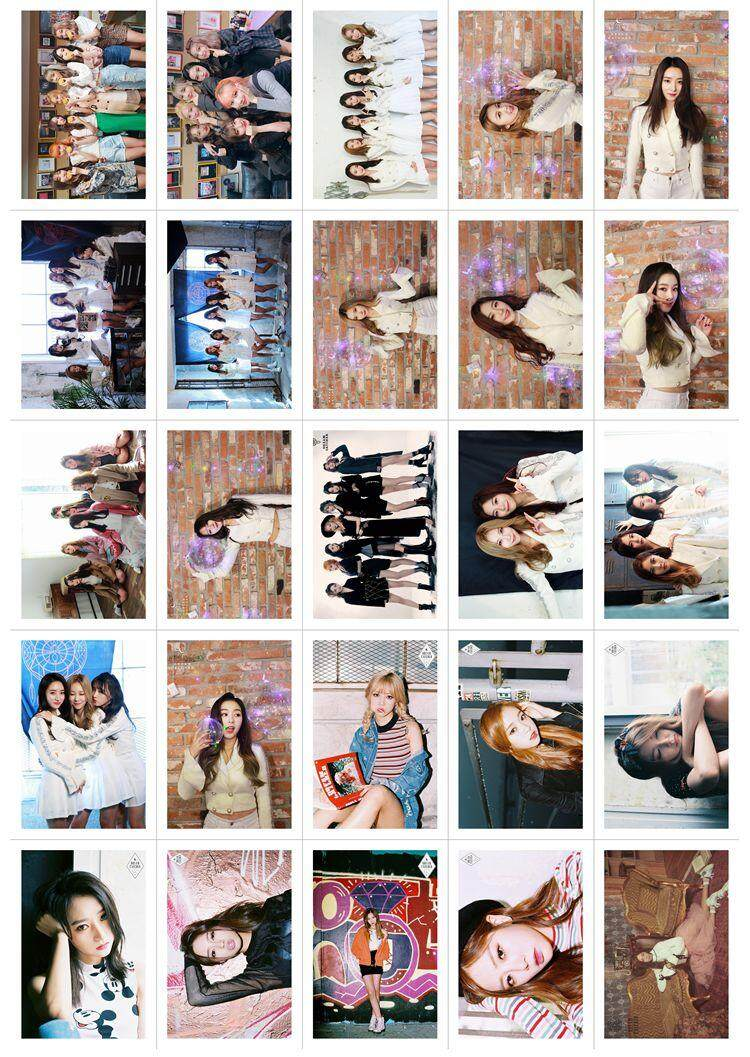 [PREORDER 7-12 days] Dreamcatcher 100pcs Lomo cards/photocards