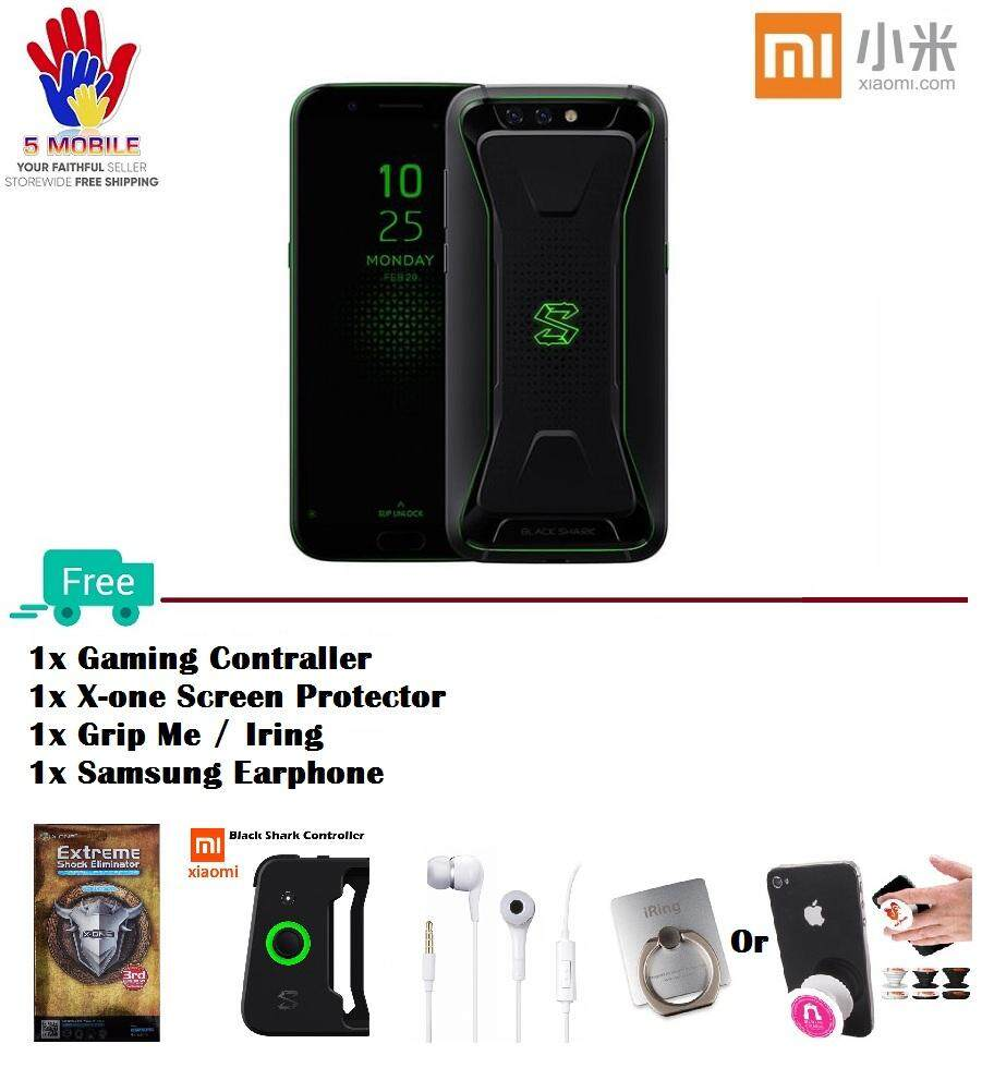 Xiaomi Black Shark (64GB / 128GB)(GLOBAL ROM) International Set + Freebies!