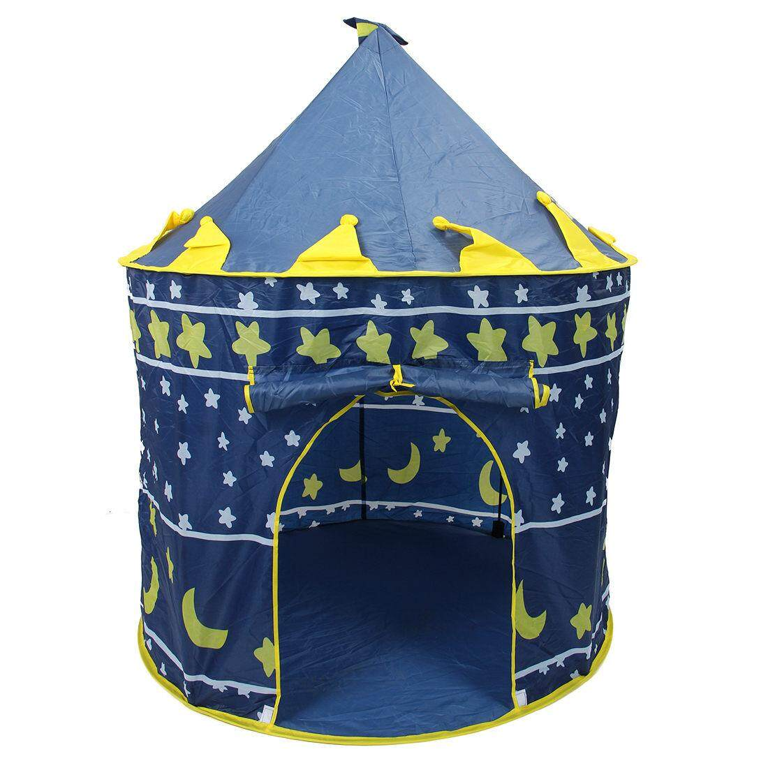 Ultralarge Children Beach Tent, Baby Toy Play Game House, Kids Princess Prince Castle Indoor Outdoor Toys Tents Christmas Gifts By Jonesmayer.