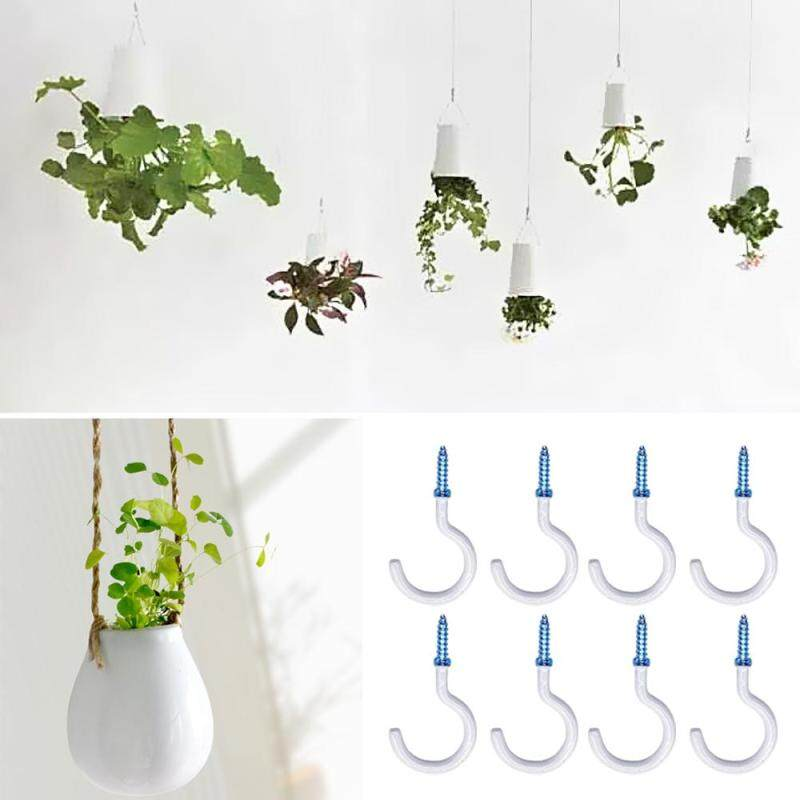 10 Pcs 2inches Ceiling Hooks Cup Hook Holder for Hanging Plant Coffee Mugs Assortment Kit