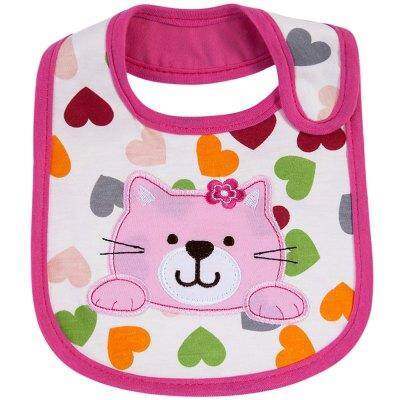 Sweet Cartoon Waterproof Soft Babies Bib By Etop Store.