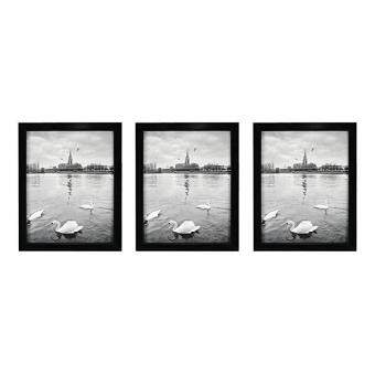 Baru Golden State Art Set Of 3 8x10 Wood Picture Frame Simple