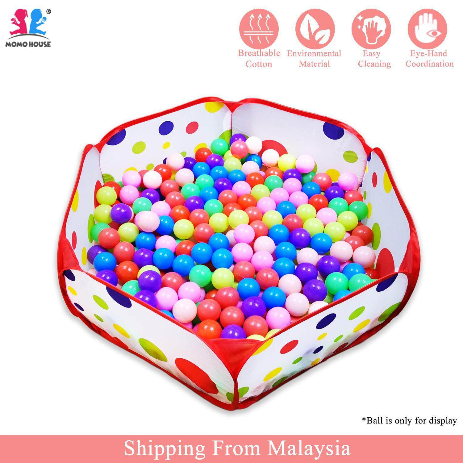 Momo House Foldable Ocean Ball Pool Tent Portable Pit Pool By Momo House.