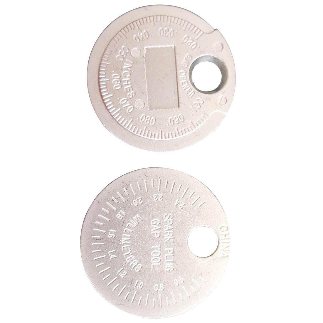 Spark Plug Gap Gauge Tool Measurement Coin-Type 0 6-2 4mm Range Spark Plug  Gage
