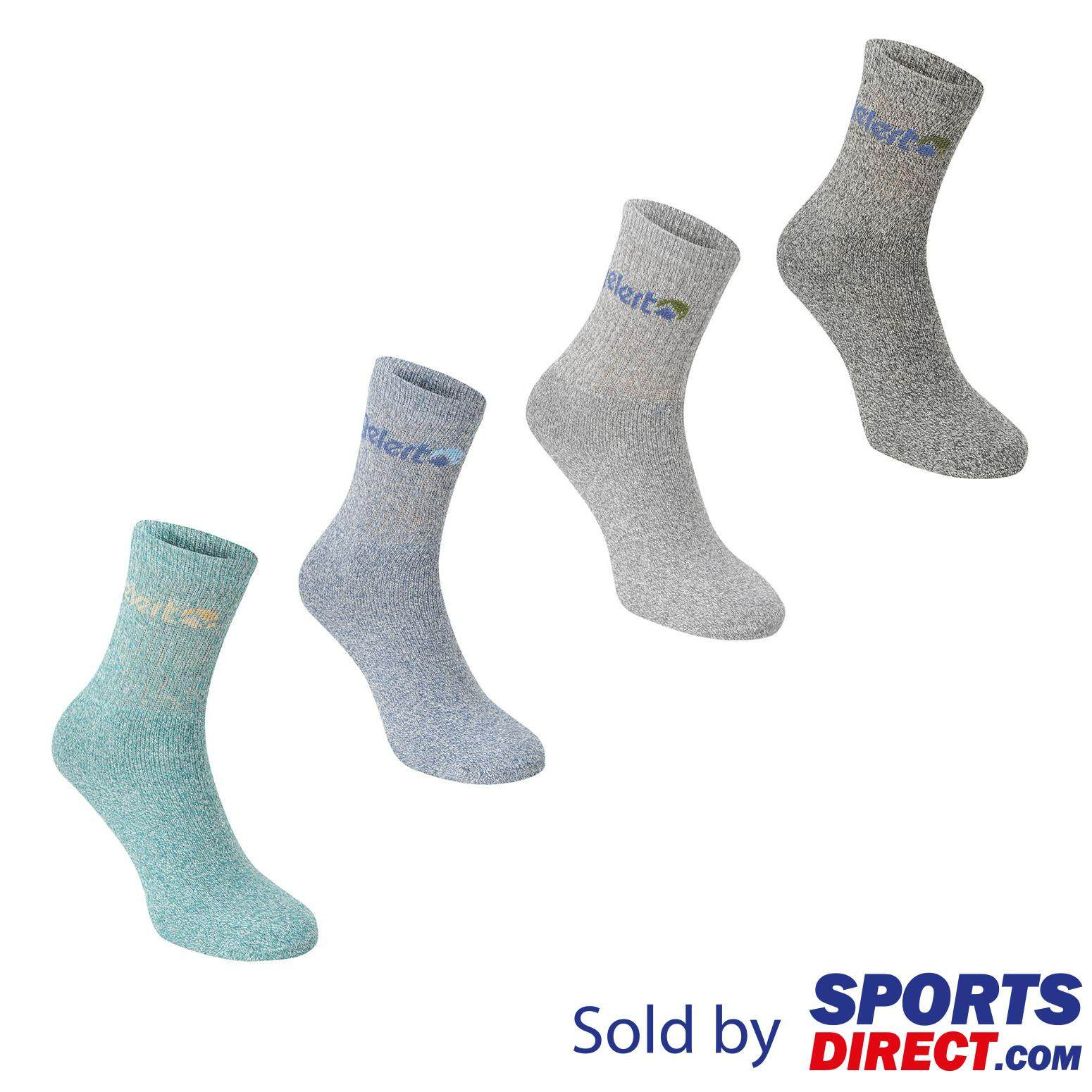 Gelert Womens Walking Boot Sock 4 Pack (turquoise) By Sports Direct Mst Sdn Bhd.