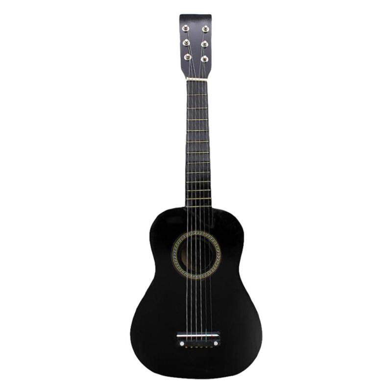 Miracle Shining Mini 23 inch Wooden 6 Strings Acoustic Guitar Musical Instrument Gift Black Malaysia
