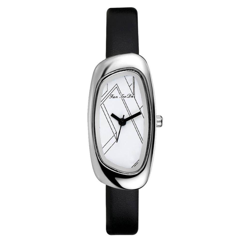 3Colors Silver Watchcase Casual Fashion Men Women Male and Female Unisex Couple Watch(Black) Malaysia