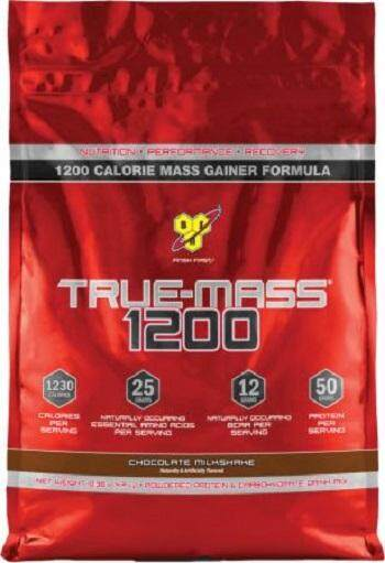 Bsn True Mass Chocolate Protein 10.38 Lbs Weight Gainer Build Muscle Otot Susu Protin Gym By Active Sports.