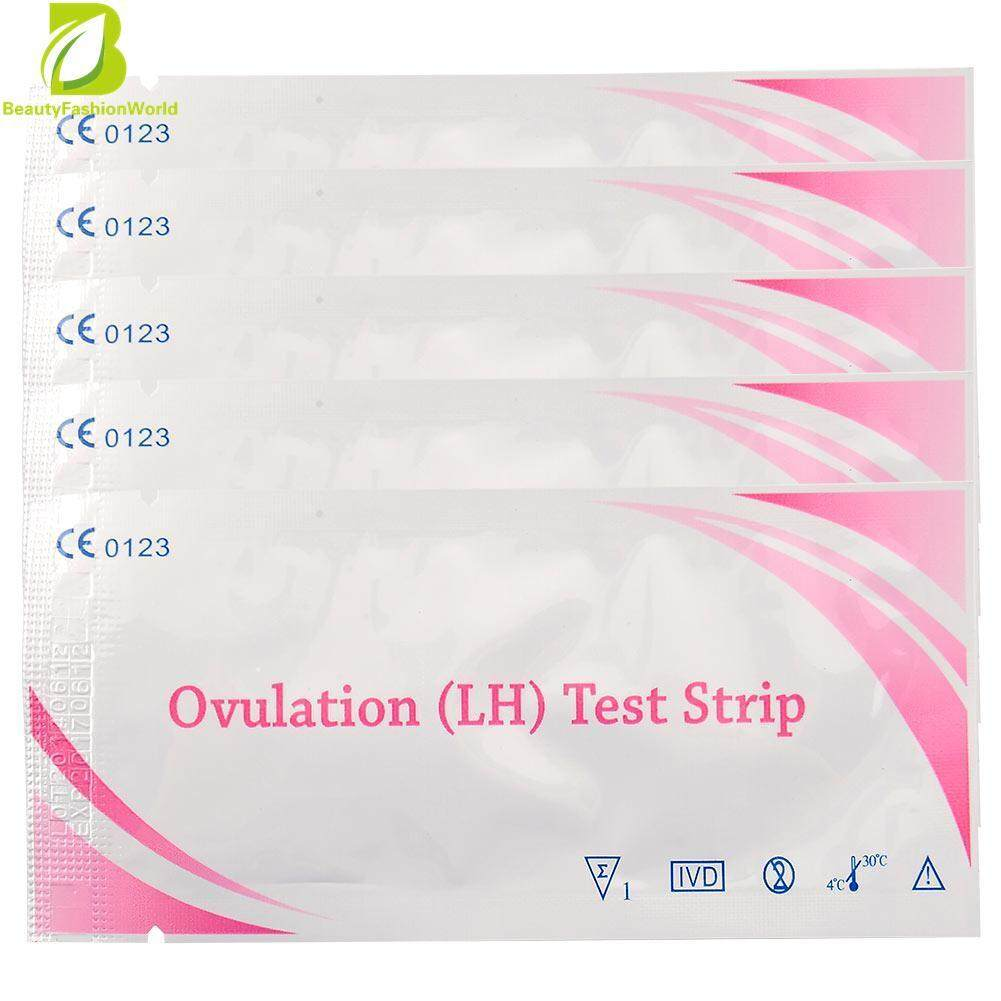 5pcs One Step - Ovulation Fertility Tests Pregnancy Home Urine Test Kit Strips By Beautyfashionworld.