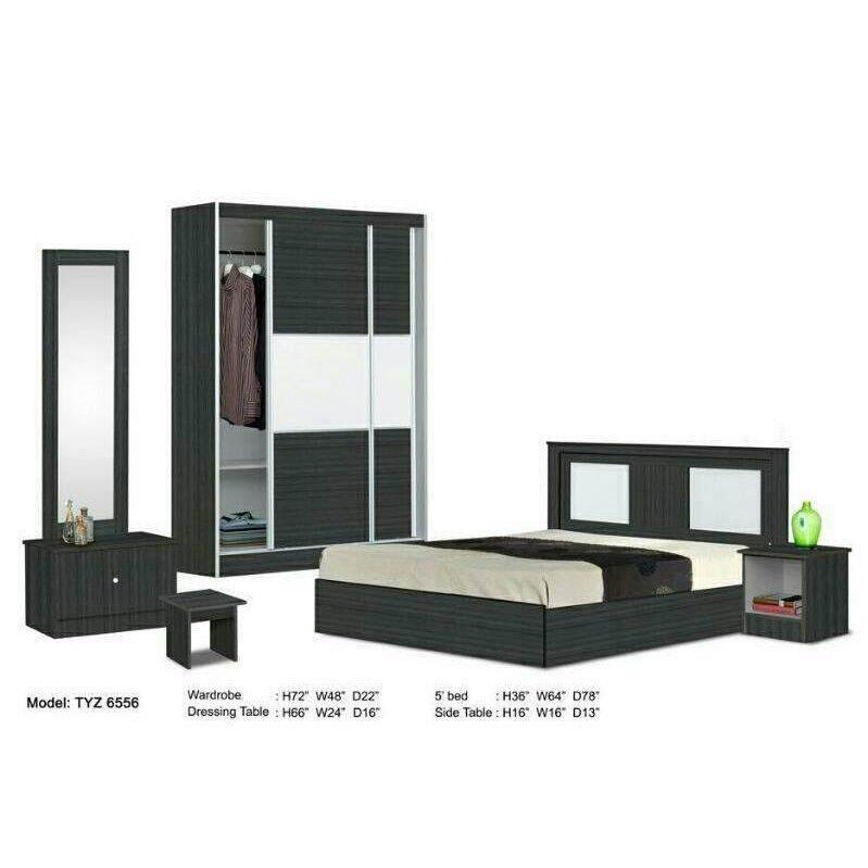 Hl 6556 Full Set Queen Bedroom