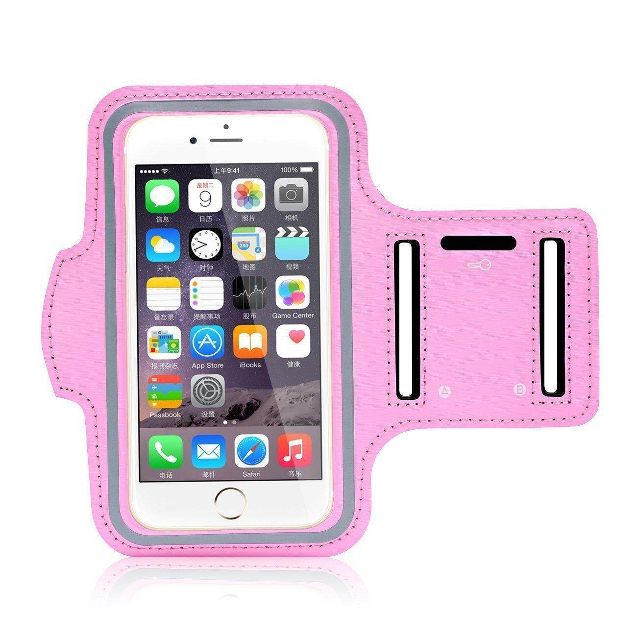 Waterproof Sport Running Arm Band Case(Pink 5.5 Inch) 0ad2c8f118343