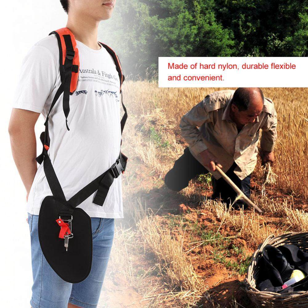 Universal Trimmer Double Shoulder Strap Mower Nylon Y-shaped Belt for Brush Cutter Garden