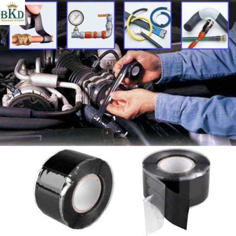 Magic Waterproof Useful Handy Stop Leaking Repair Tape Black Home Gadget