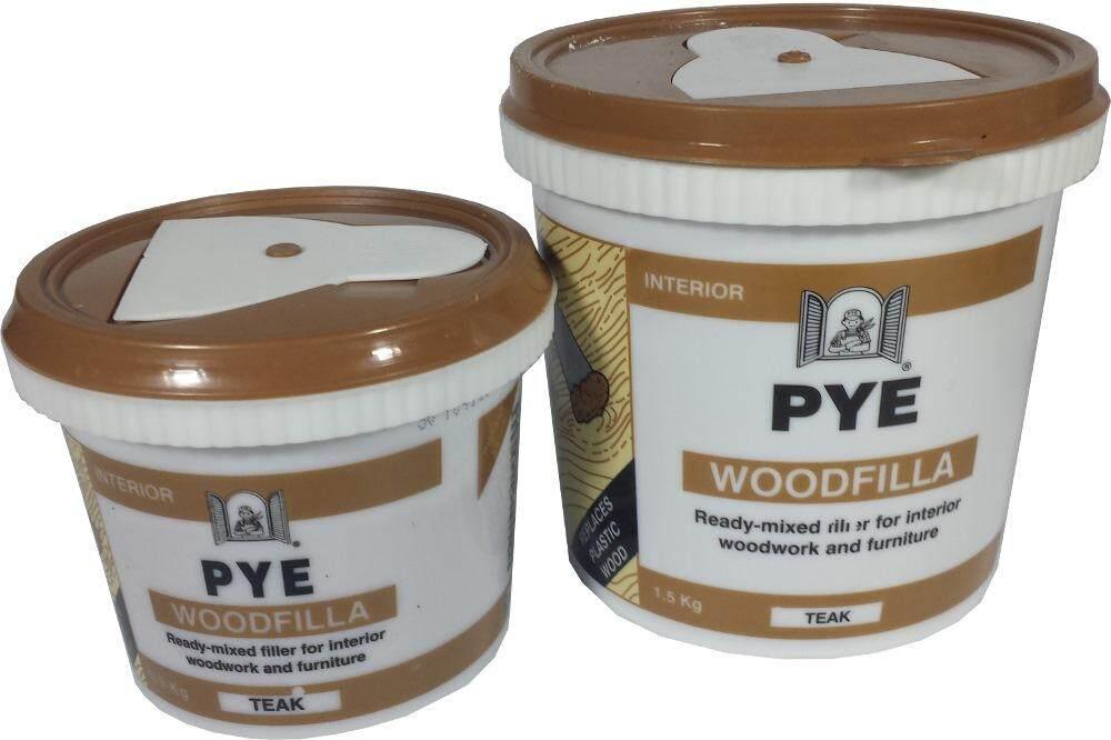 PYE Wood Filler Ready Mix 0.5kg Repair Crack Wood