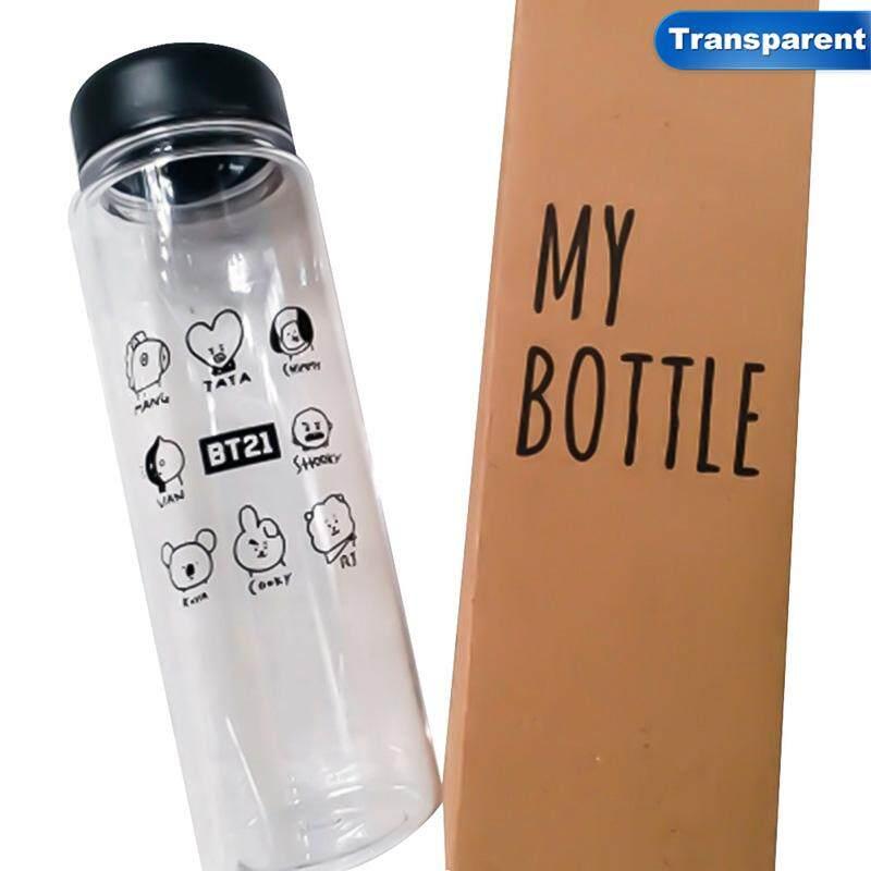 BZY Kpop BTS Bangtan Boys Character Cartoon Image Portable Outdoor Water  Bottle 4b995e3e46