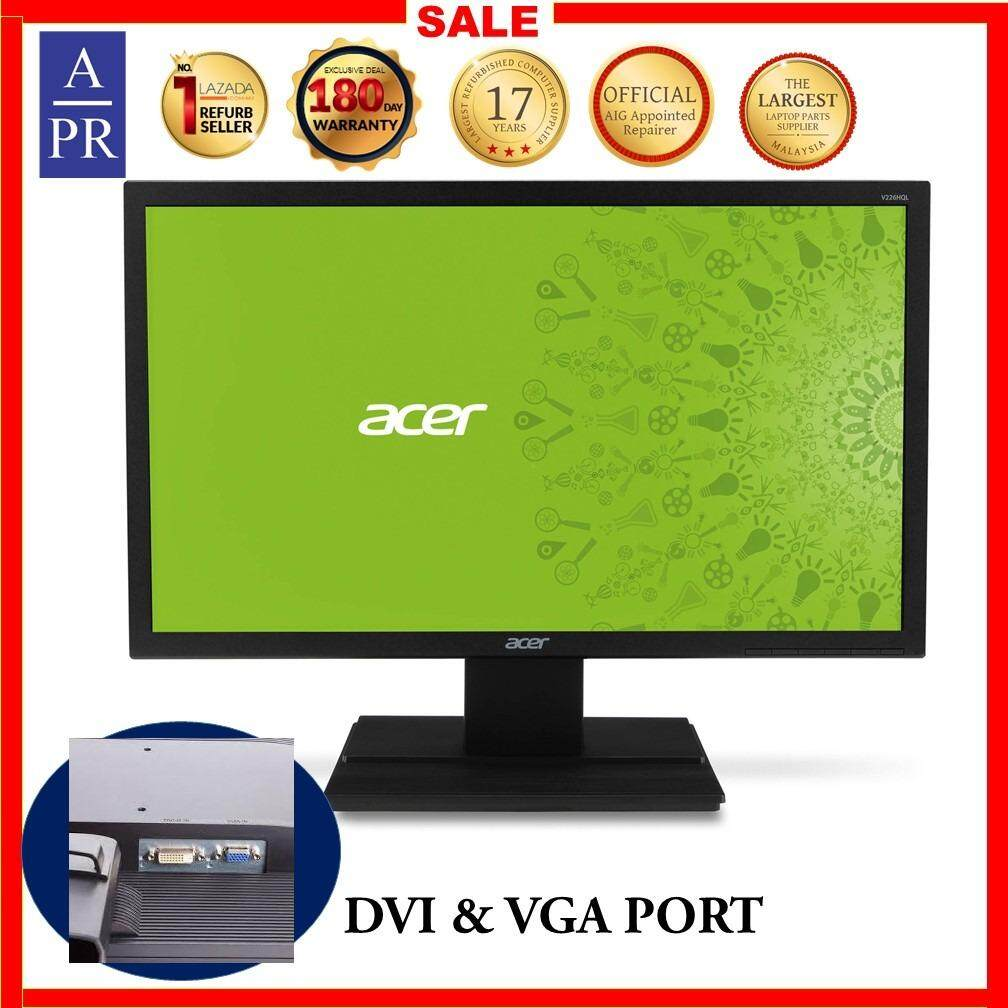 Acer V226HQL Monitor LED monitor Full HD (1080p) 21.5 -(Refurbished) Grade A Malaysia