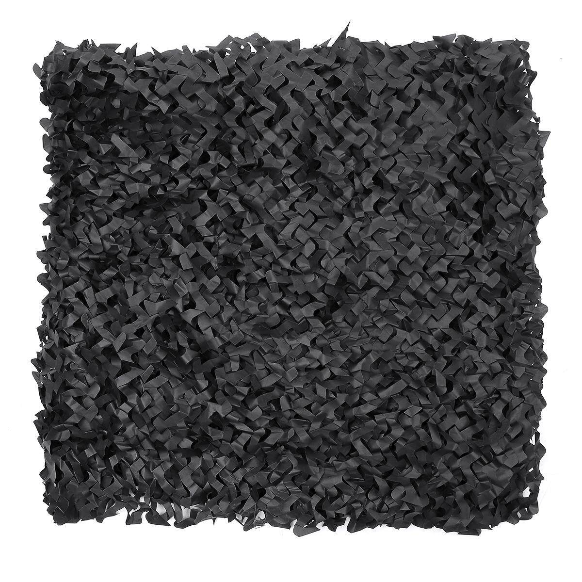 Black Camouflage Net Camping Hunting Garden Party Decor Photography Camo Nets#5m x 1.5m
