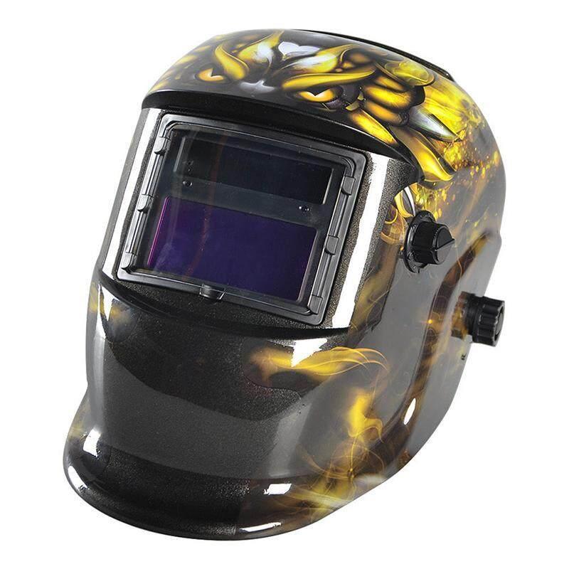 Auto Darkening Welding Helmet Welders Mask Solar Powered Grinding