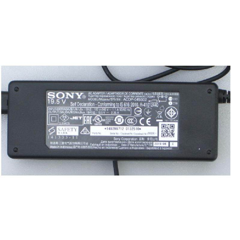 B2B SONY BRAVIA TV ADAPTER 19 5V 2 35A WITH POWER CABLE