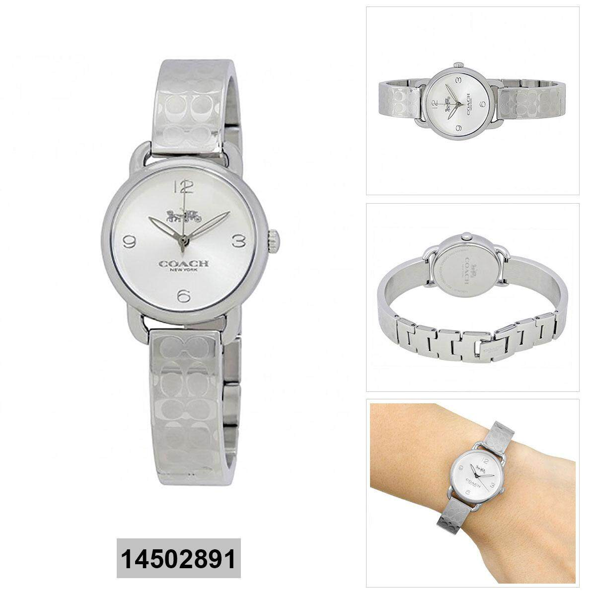 Coach Coach Delancey Silver Stainless-Steel Case Stainless-Steel Bracelet Ladies 14502891 Malaysia