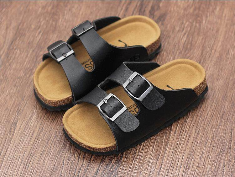 Summer 2018 New Girls Slippers, Childrens Slippers, Korean Version Of Cork Slippers, Boys Sandals, Childrens Slippers By Oneegg.