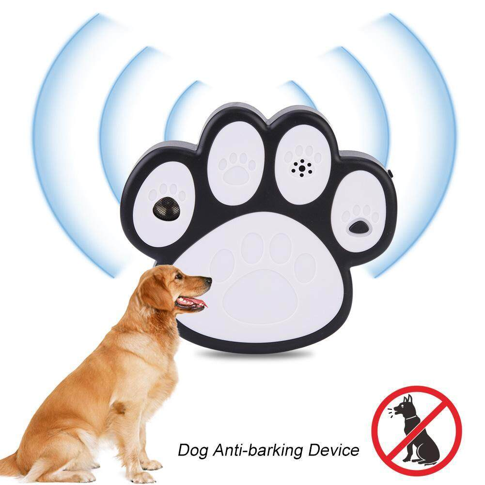 Ultrasonic Smart Dog Anti-Barking Device Portable Bark Trainer Control Indoor & Outdoor By Minxin.