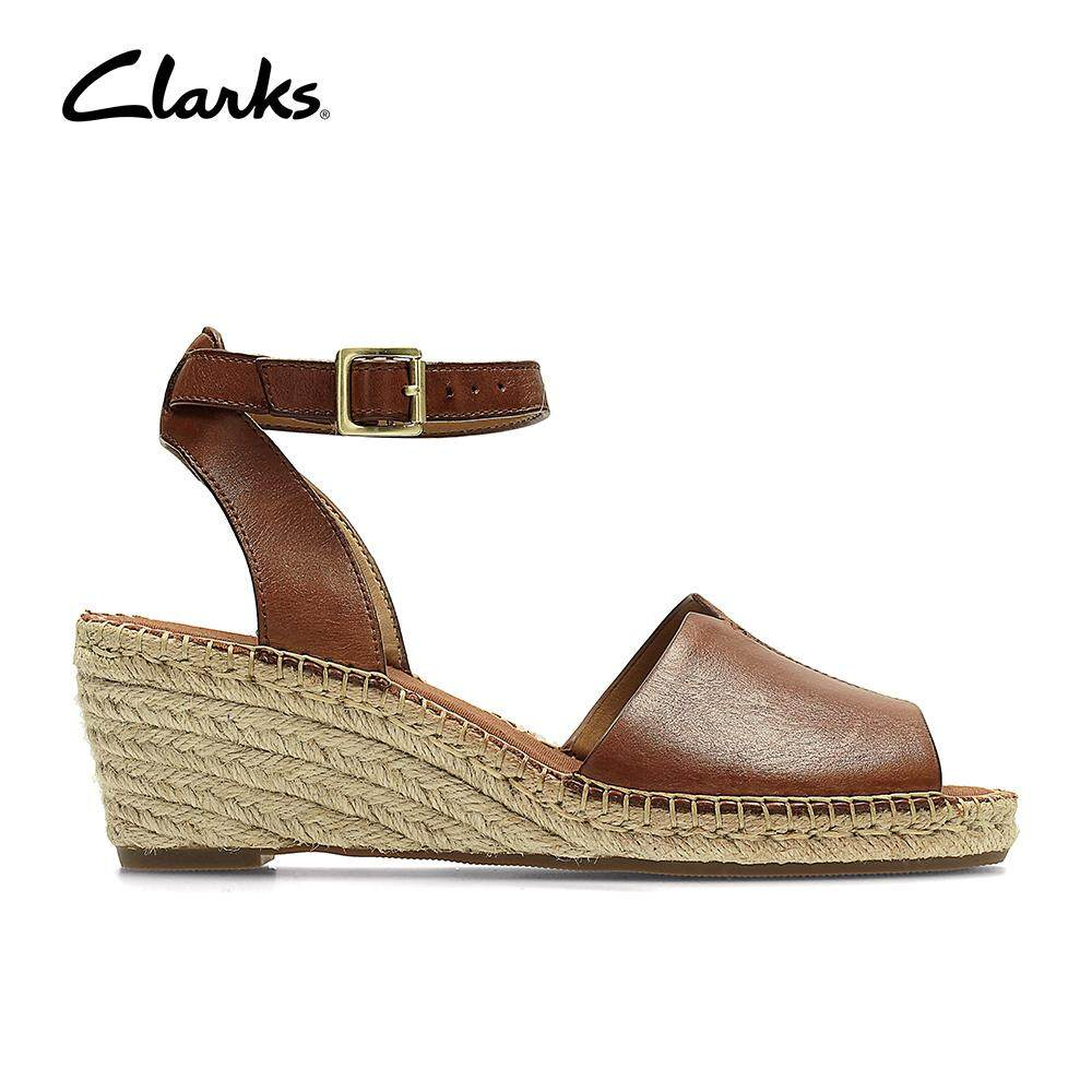 Clarks Buy At Best Price In Malaysia D Island Shoes Slip On British Comfort Leather Dark Brown Womens Petrina Selma Sandals Cushion Plus Casual Leathersandals Classic Durable Lightweight Fashion